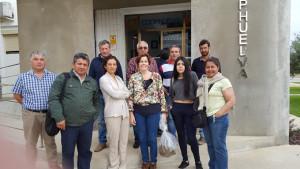 Visita de la delegación chilena a Huelva.