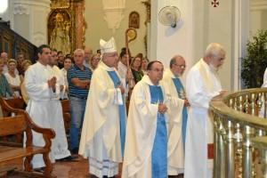 Imagen de la misa en la Catedral.