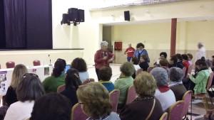 Encuentro de mujeres en Castillejos.