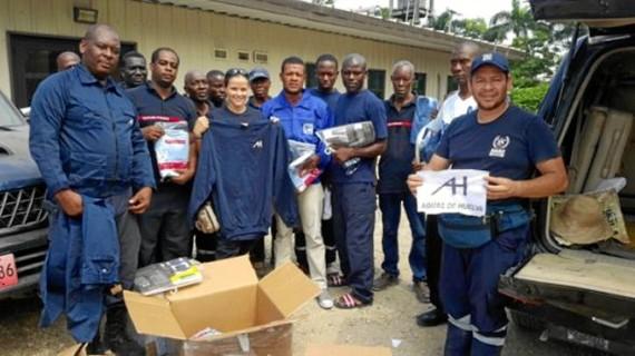 Material donado procedente de Huelva llega a Haití donde ha sido distribuido entre equipos de emergencia locales