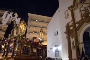 Las hermandades de la Concepción recibieron a la Hermandad del Santo Entierro