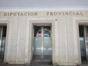 La fachada de la Diputación se teñirá de verde el 10 de octubre.