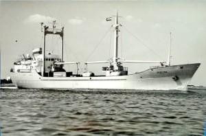 El buque alemán 'Huelva', matriculado en 1976 por la OPDR.