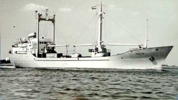 'Huelva', un bonito nombre para buques que han navegado por todo el mundo