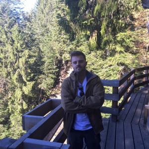A Jesús le encantan los paisajes de Suiza.