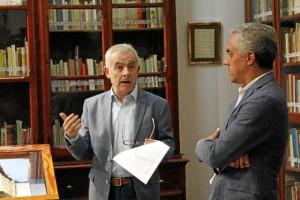 Juan Manuel Alfaro y Diego Ropero medios