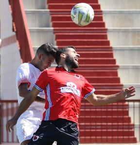 Romper una mala racha con un triunfo, reto del Cartaya este domingo. / Foto: Antonio Alcaide.