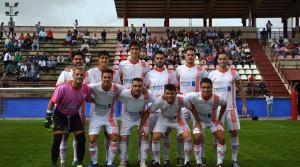 La Palma se impuso (3-4) en el campo del Almodóvar en un partido con muchas alternativas. / Foto: David Limón.