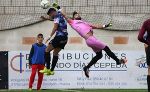 El Pinzón buscará dar el salto en la tabla con una victoria ante el Cartaya. / Foto: Antonio Alcalde.