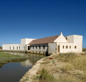 Molino de El Pintado en Ayamonte.