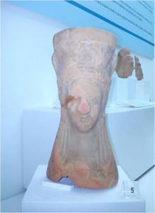 Pebetero de época turdetanalocalizado en El Terron (Lepe).
