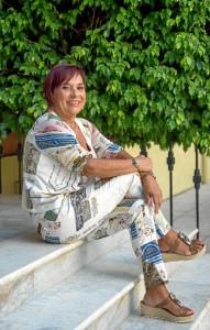 Antonia María Peralto ha concedido una entrevista a HBN. / Foto: Adolfo Morales.
