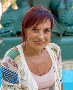Antonia María nos adelanta algunos datos de su novela. / Foto: Adolfo Morales.