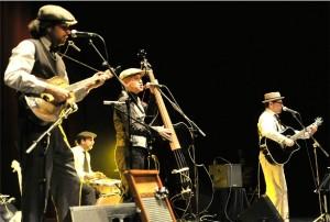 Picolissima Jug Band, una de las actuaciones previstas en el programa.