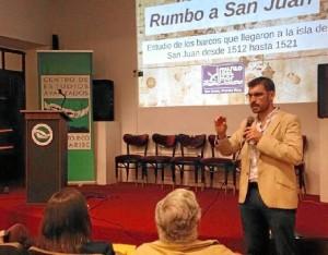 Presencia del Museo del Mar en el Segundo Congreso de Historia de la Ciudad de San Juan en el Centro de Estudios Avanzados de Puerto Rico y el Caribe.