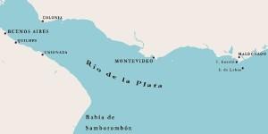 Otra de sus aventuras más destacadas fue la exploración del Río de la Plata.