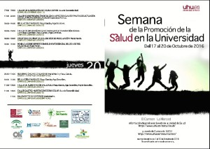 Programa de la semana de la promoción de la Salud 2016