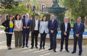 Presentación en Huelva del V Foro EGEDA-FIPCA del audiovisual iberoamericano.