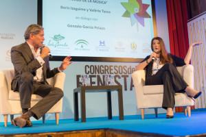 Boris Izaguirre y Valérie Tasso.