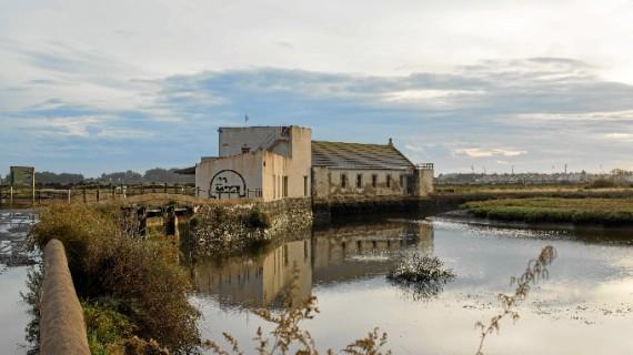 Los molinos mareales de la provincia de Huelva, en el Molino de 'El Pintado' de Ayamonte