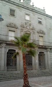 Hacienda es un edificio construido en los años cuarenta. / Foto: Patronato de Turismo (Web España es única).