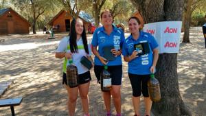 María Pilar Martín y Laura Feria tuvieron una buena actuación en Linares (Jaén), en el Campeonato de Andalucía de tiro Clout.