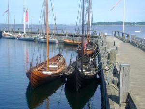 Museo de barcos vikingos en Dinamarca. / Foto: tripadvisor.