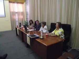Inauguración del seminario.