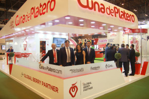Stand de Cuna de Platero en Fruit Attraction.