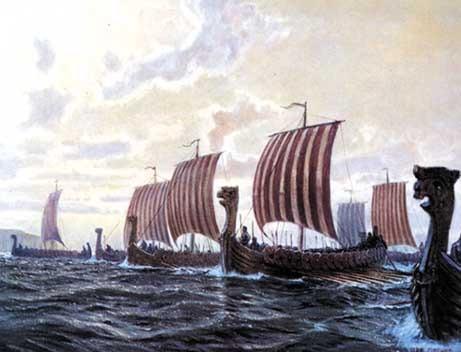 La Presencia De Los Vikingos En Huelva Del Puerto De San Juan A La Isla De Saltés Huelva Buenas Noticias