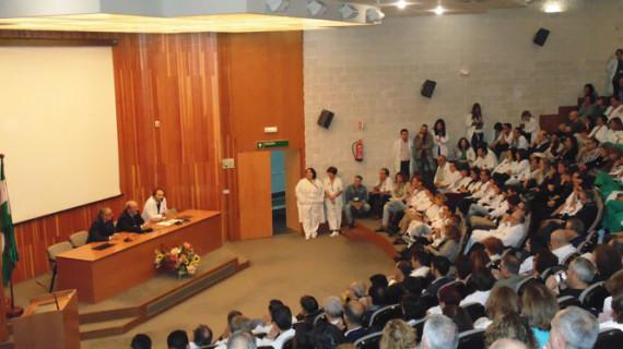 Presentación oficial del nuevo gerente del Complejo Hospitalario de Huelva