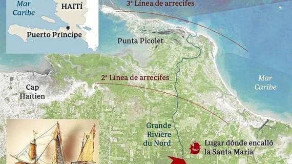 Surgen voces que piden la devolución a Huelva del ancla de la nao Santa María, custodiada en el Museo Nacional de Haití