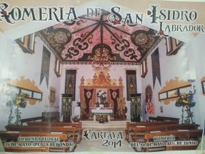 Las pinturas de la ermita de San Isidro son obra de este artista.