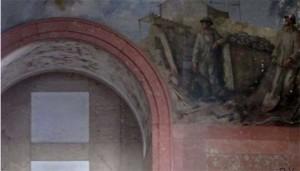 Parte del mural de Eduardo Vicente en Huelva.
