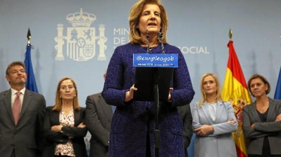 Fátima Báñez toma posesión como ministra de Empleo y Seguridad Social