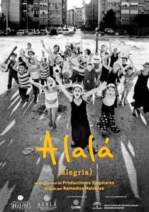 Cartel del largometraje documental 'Alalá'.