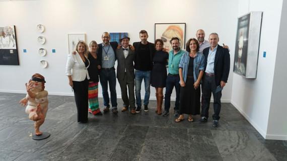El panorama artístico actual de la provincia de Huelva se exhibe en la Feria S.A.CO de Sevilla