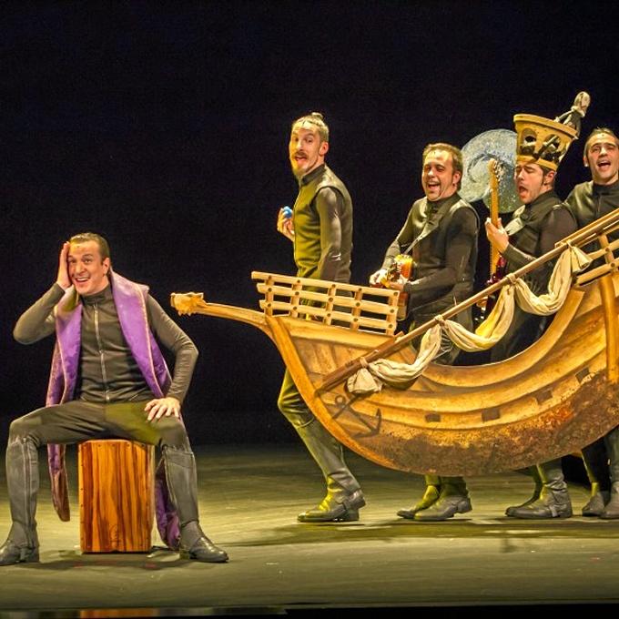 El Festival de Teatro de Cartaya se despide con la obra 'La Cervantina'