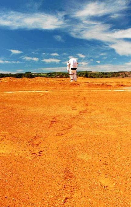 Riotinto está considerado por los científicos como uno de los mejores análogos de Marte en la Tierra. /Foto: Alistair Nottle.