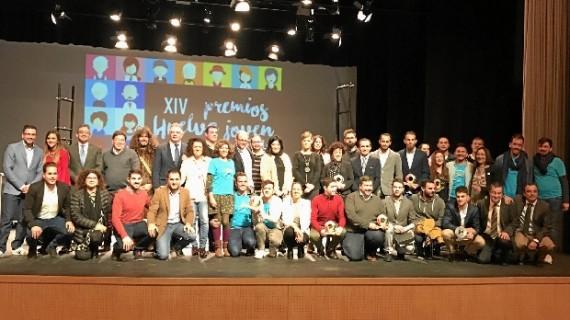 Marta Soto, Adrián Zafra, Mariliendres, la bailaora Rocío Fernández y el ciclista Claudio Clavijo, galardonados con el Premio Huelva Joven 2016