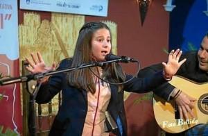 La joven de 12 años ha ganada prácticamente todos los certámenes de fandangos a los que se ha presentado en la provincia onubense.