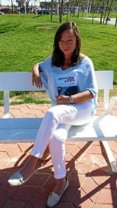 Cristina Font presenta este jueves 24 de noviembre su novela 'Mensajes desde África'.