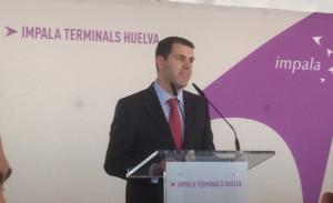 Javier Peña, director de la terminal.