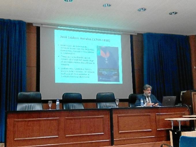 Un ciclo de conferencias de la Universidad de Huelva analiza la vida y obra de José Isidoro Morales