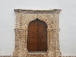 Detalle de una construcción de Ayamonte, localidad que también se encuentra dentro de la Rua de Al-Mutamid.