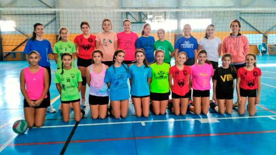 Cuatro onubenses, en las Selecciones Andaluzas de Voleibol