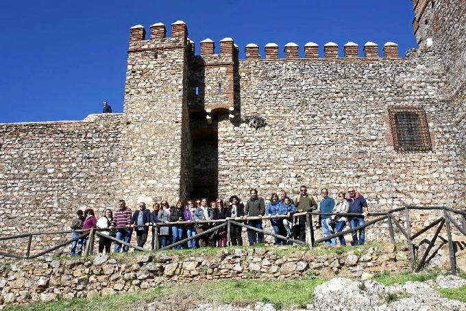 Visita al Castillo de Cortegana.