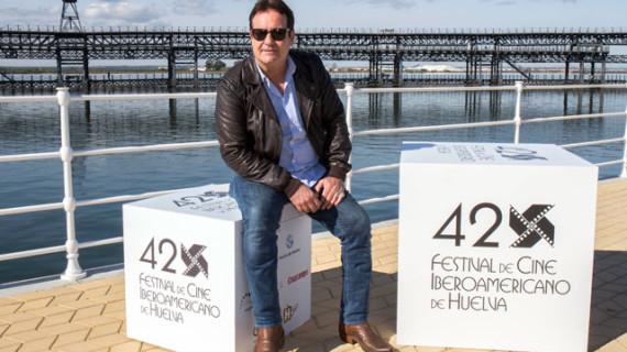 El actor Jorge Perugorría, que recibe el Premio 'Ciudad de Huelva' en la gala de apertura del Festival, aboga por el cine iberoamericano