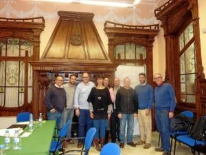 Reunión de los miembros del jurado.