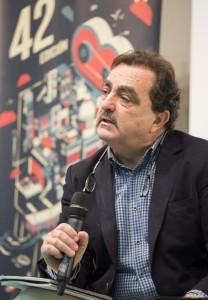 El periodista Eduardo Moyano.